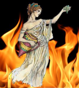 hestia-y-llama-sagrada